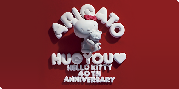 HelloKitty 40th Anniversary