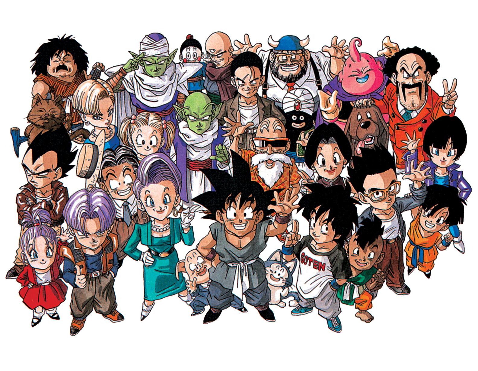 Dragon Ball Z Anime Characters : Dragon ball « tomodachi