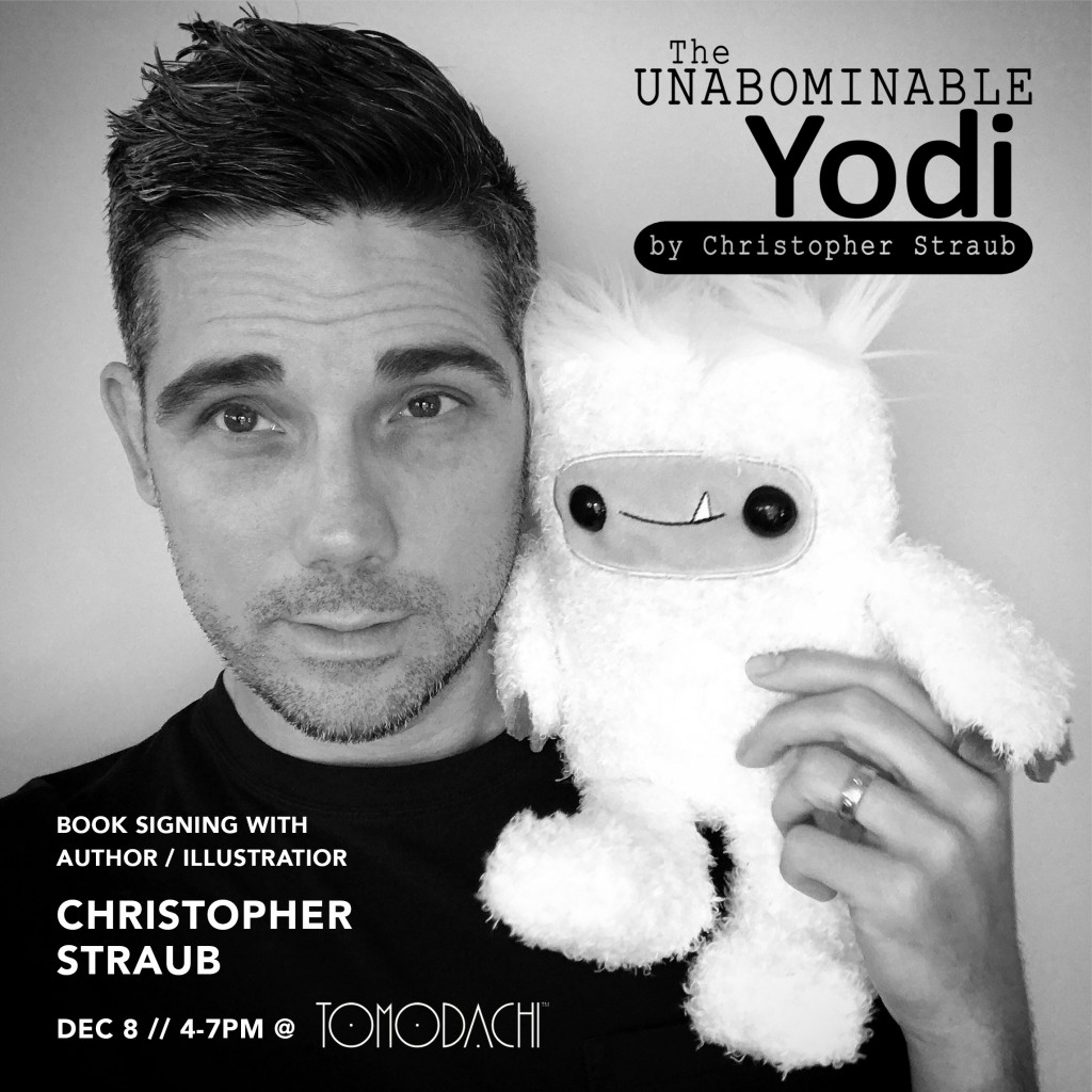 Christopher Straub and yodi